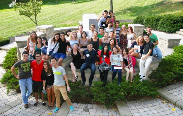 W&J exchange students 2013